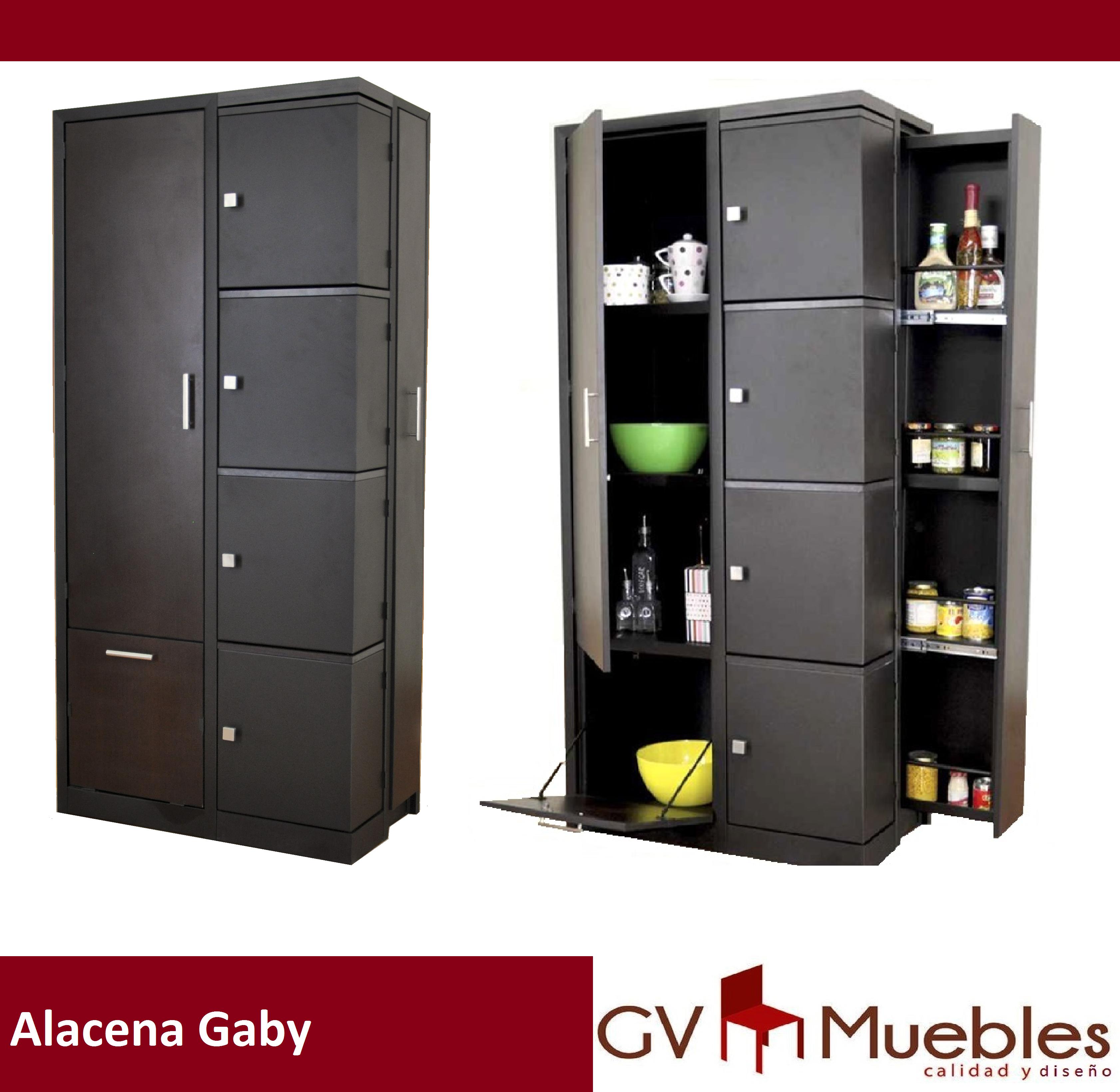 Alacena Gaby Chocolate